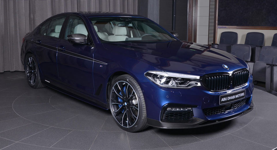 2017 bmw 540i owners manual