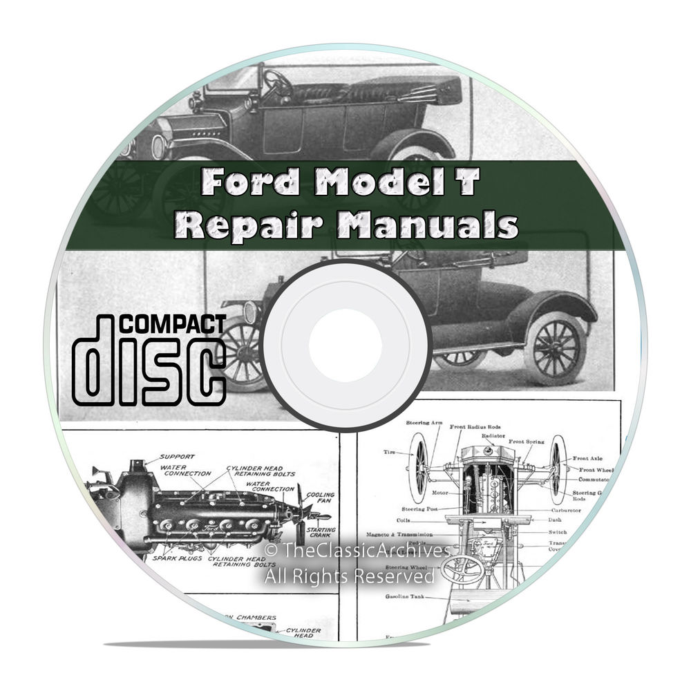 model t ford service manual
