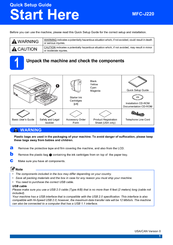 brother mfc j220 service manual